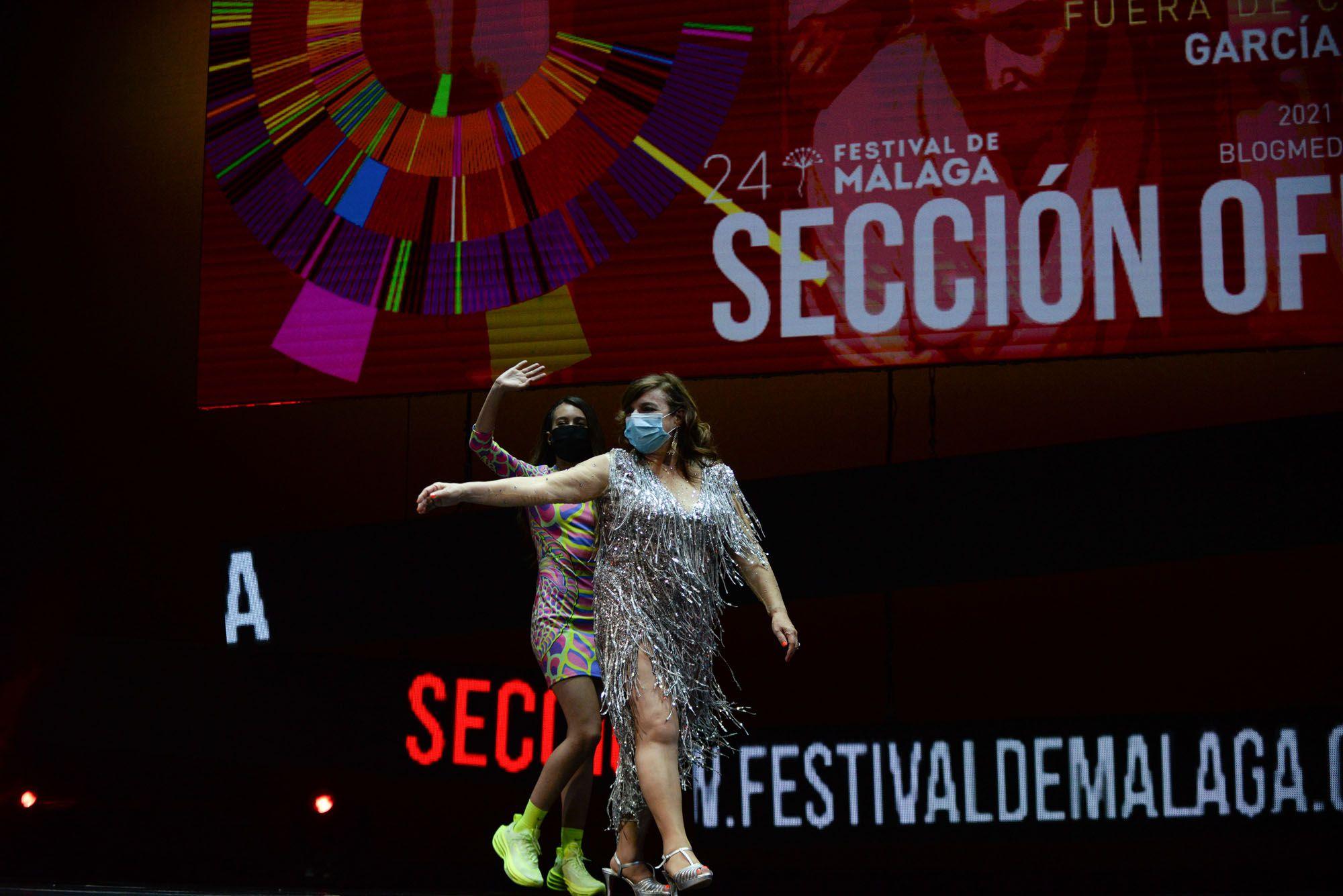 Las imágenes de la gala de clausura del Festival de Malaga 2021