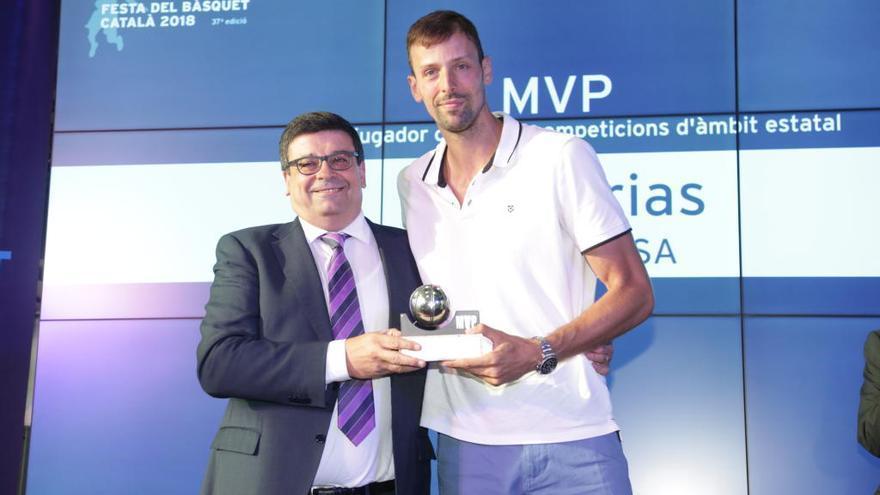 Jordi Trias, reconegut com a millor jugador català en lligues estatals