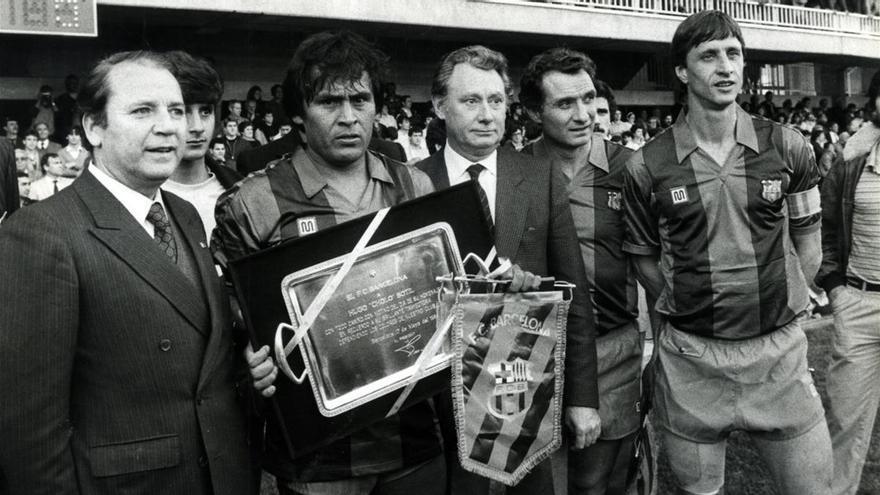 Muere Josep Lluís Núñez, el presidente del Barça más longevo
