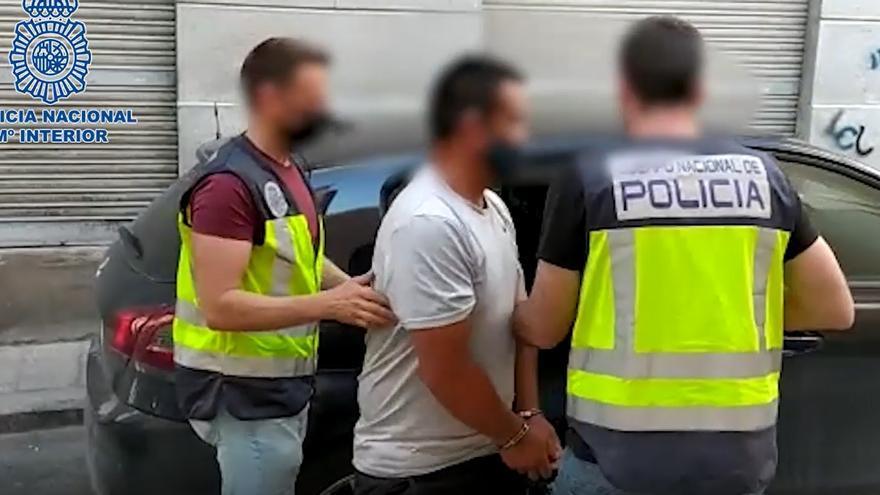 Arrestado en Lorquí tras darse a la fuga por haber cometido un asesinato en Ecuador