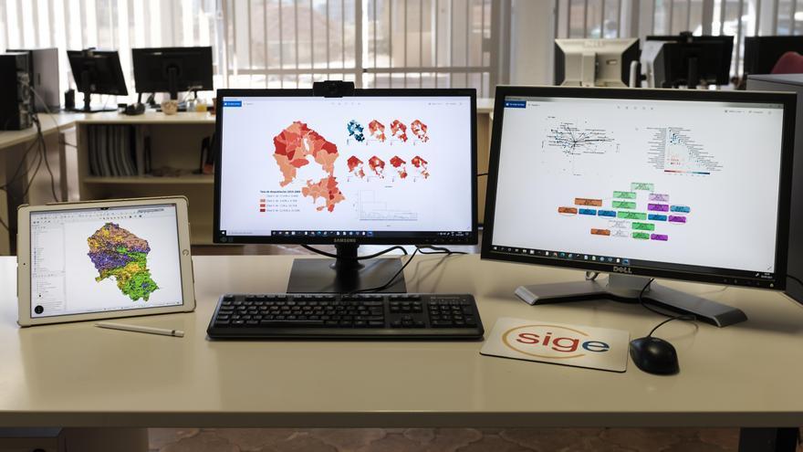 El Sistema de Información Geográfica Provincial (SIG) de la Diputación, referente en materia de datos espaciales, se presenta en un congreso internacional