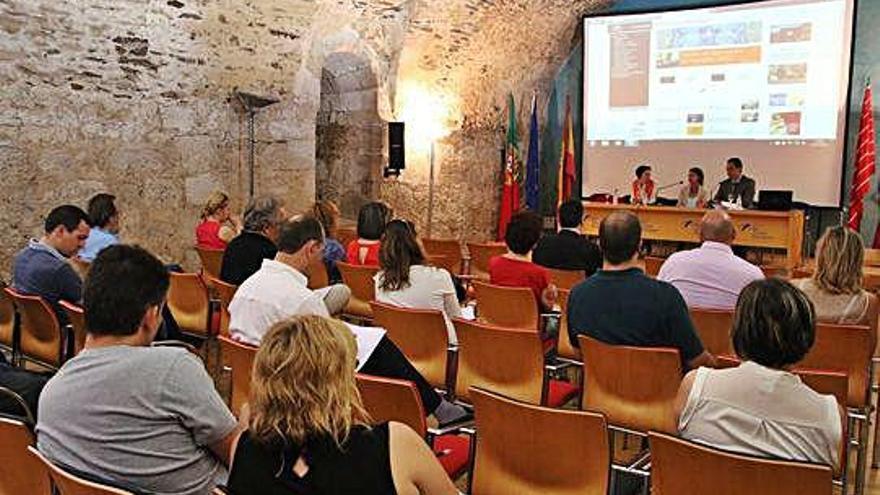 Una de las jornadas de Cooperación Transfronteriza celebradas en Zamora.