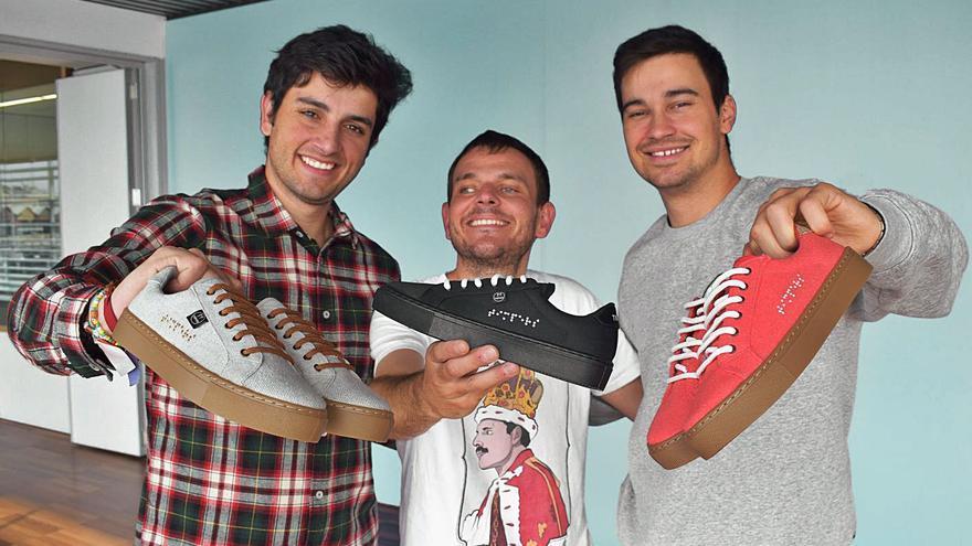 Timpers: las zapatillas diseñadas por ciegos alicantinos llegan a los Juegos Paralímpicos