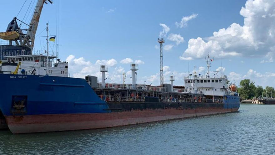 Ucrania apresa un petrolero ruso cerca del Mar Negro