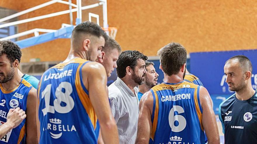 El CB Marbella inicia el curso en casa ante el Basket Navarra