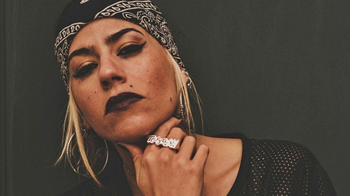 La rapera de Almussafes Teresa Arias Cuñat «Tesa».   LEVANTE-EMV