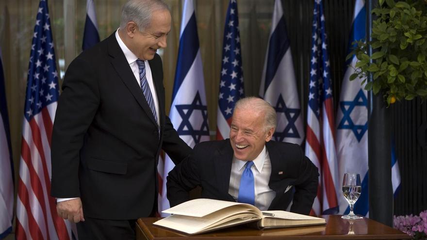 """Biden expresa a Netanyahu """"su apoyo al alto el fuego"""" en Gaza"""