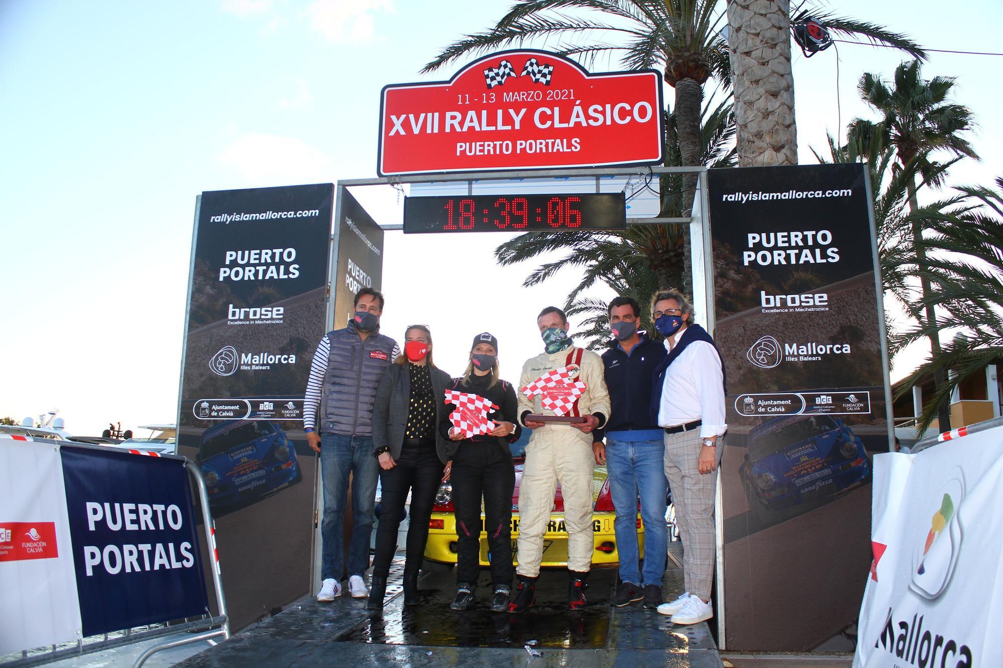 El alemán Feustel gana el XVII Rally Clásico Isla de Mallorca