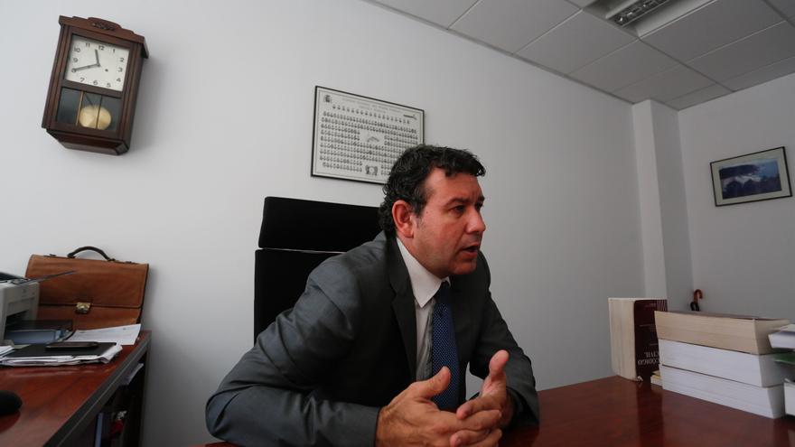 El magistrado Joaquín Colubi Mier, único aspirante a juez decano de Avilés