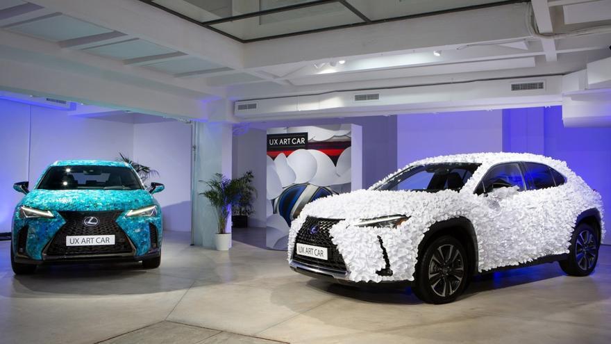 Lexus convierte al UX en auténticas obras de arte