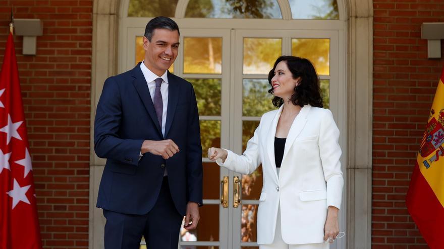 Ayuso le dice a Sánchez que España está secuestrada por quienes la odian