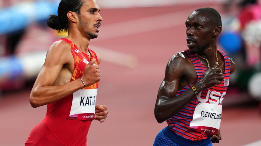 El atleta Mohamed Katir pasa a la final de los 5.000 m