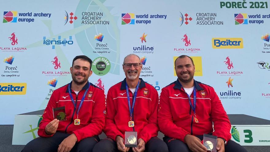 El ibicenco Daniel Morillo se cuelga el oro en el Europeo de campo
