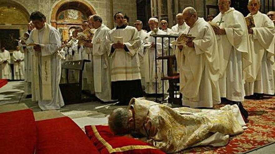 El obispo protagonizó varios desencuentros con el Ayuntamiento       que preside Guarido