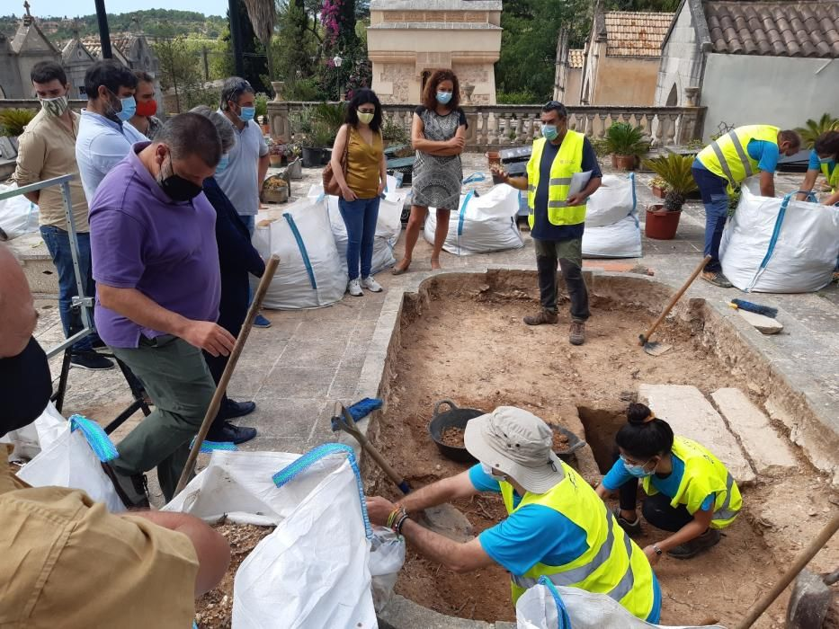 Suche nach Franco-Opfern jetzt auch in Bunyola