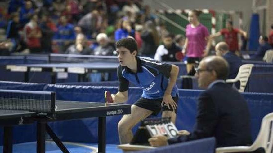 Finaliza el torneo Zonal de Tenis de Mesa de A Estrada