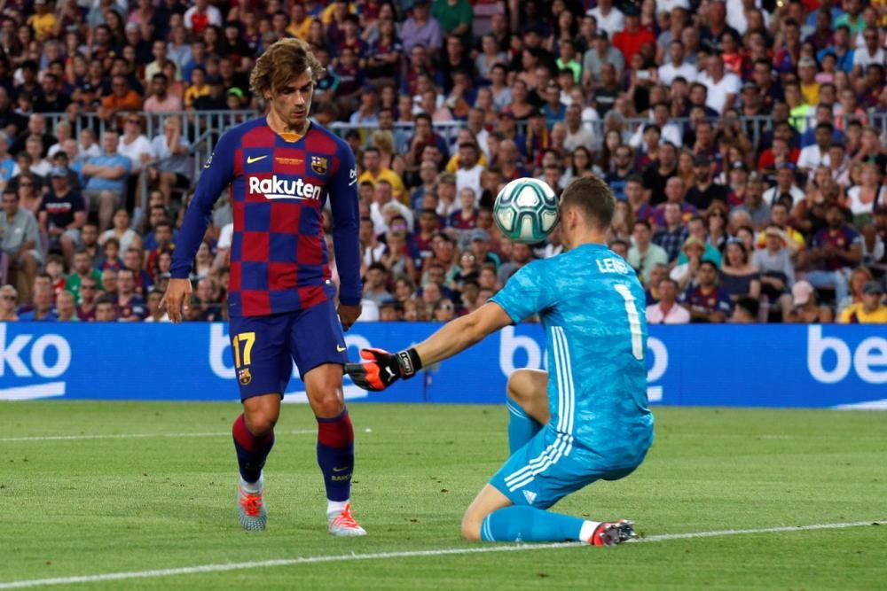 Les imatges del Barça - Arsenal