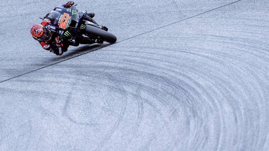 Fabio Quartararo, ganador de MotoGP 2021 en el circuito de Silverstone