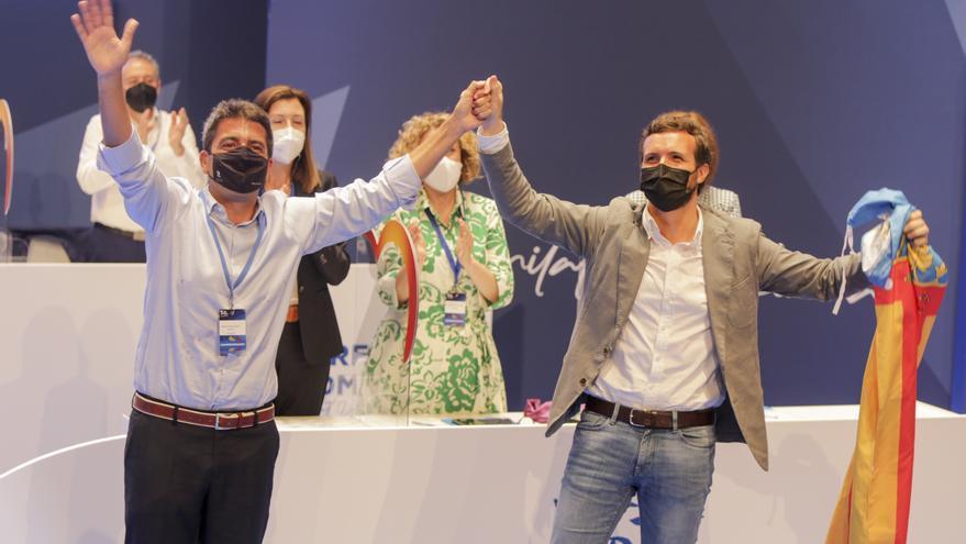 Mazón convierte a los castelloneses Salomé Pradas, Héctor Folgado y Elena Albalat en cargos clave de su nuevo PPCV
