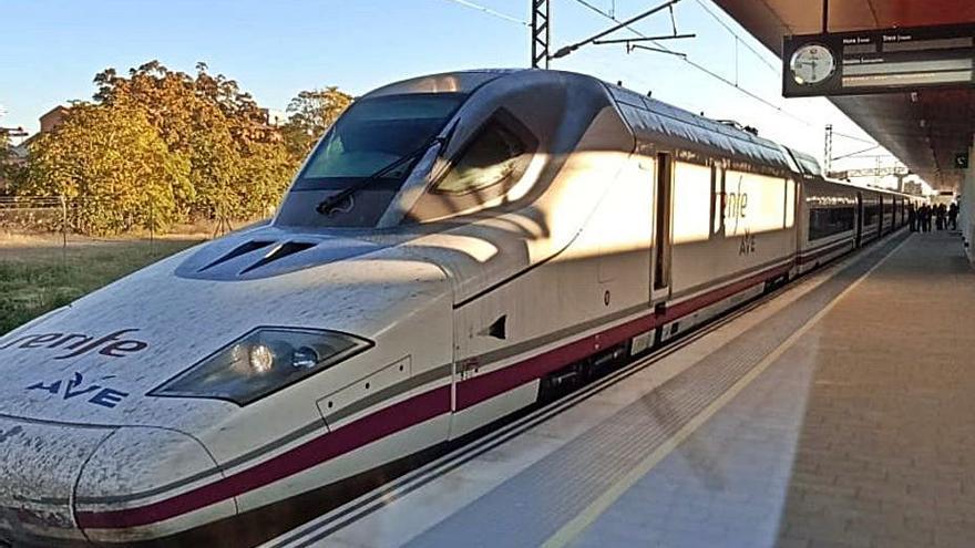 El AVE que conecta Zamora con Madrid en una hora