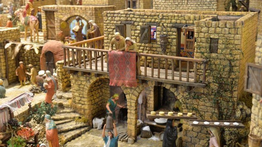 Sandías y pan de leña para el niño Jesús