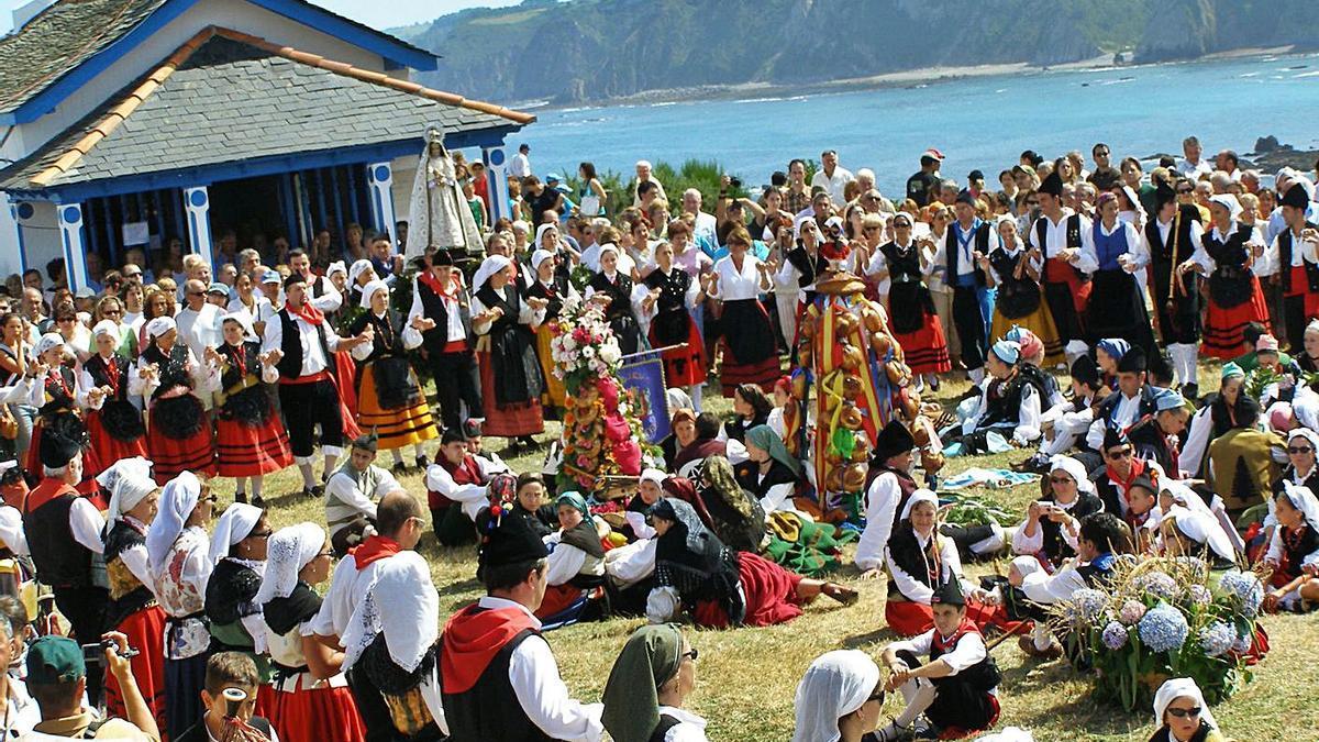 Imagen de archivo de la fiesta de La Regalina.   LNE