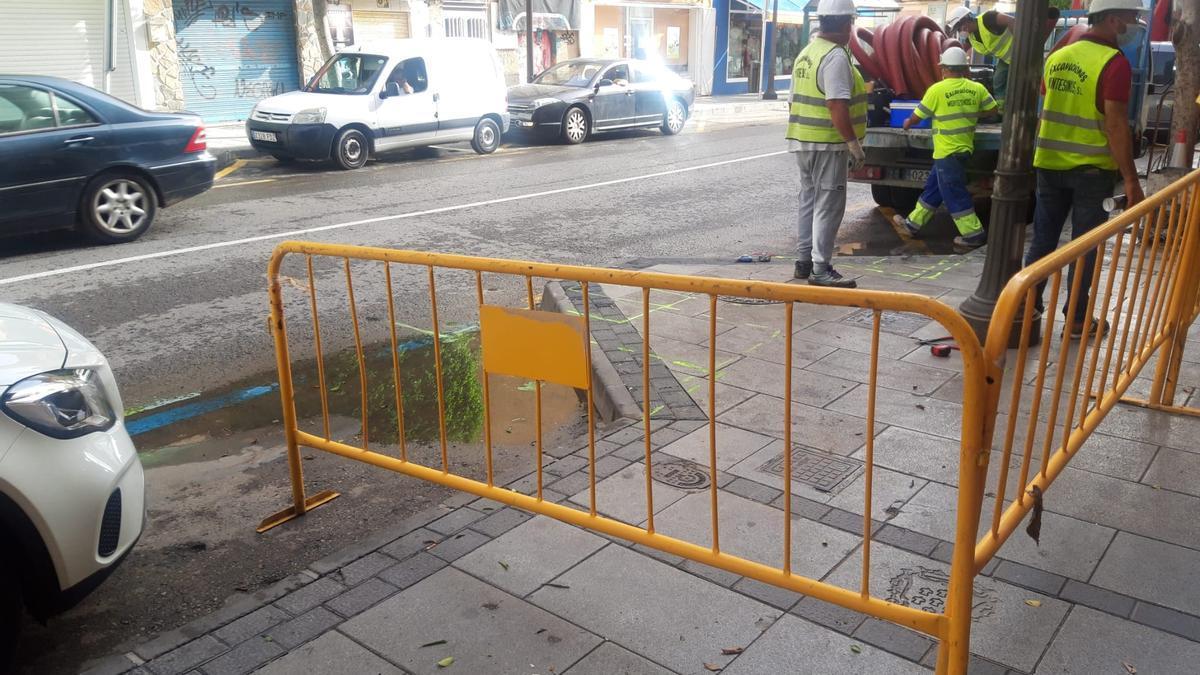Arranca la instalación de las primeras estaciones de recarga eléctrica en Alcantarilla