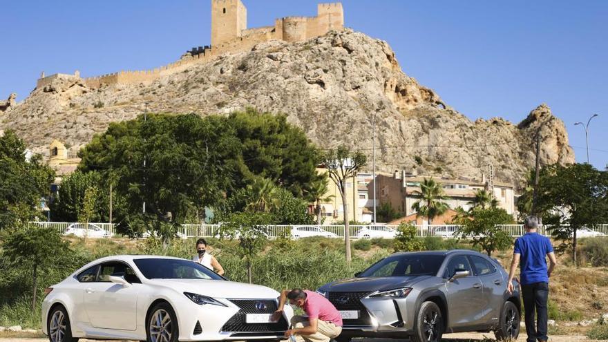 Lexus recorre la Ruta de Castillos de la provincia de Alicante