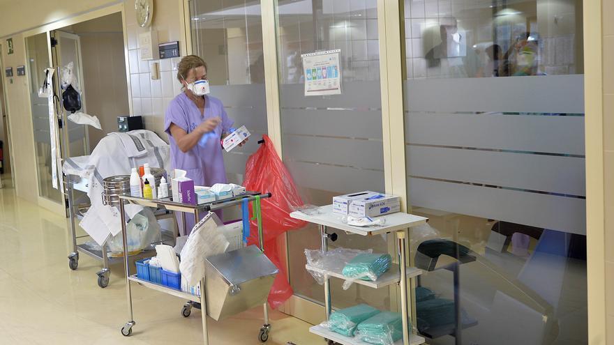 Aumenta el número de pacientes en UCI en el Hospital General de Elche