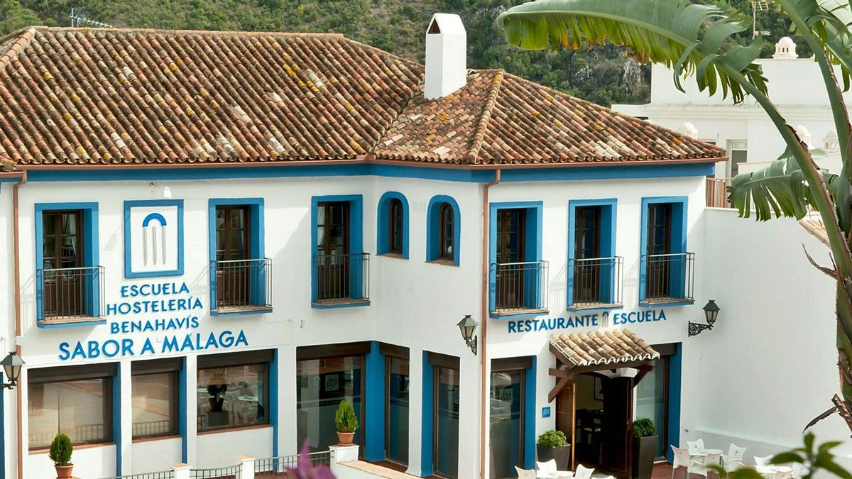 Sede de la Escuela de Hostelería de Benahavís.