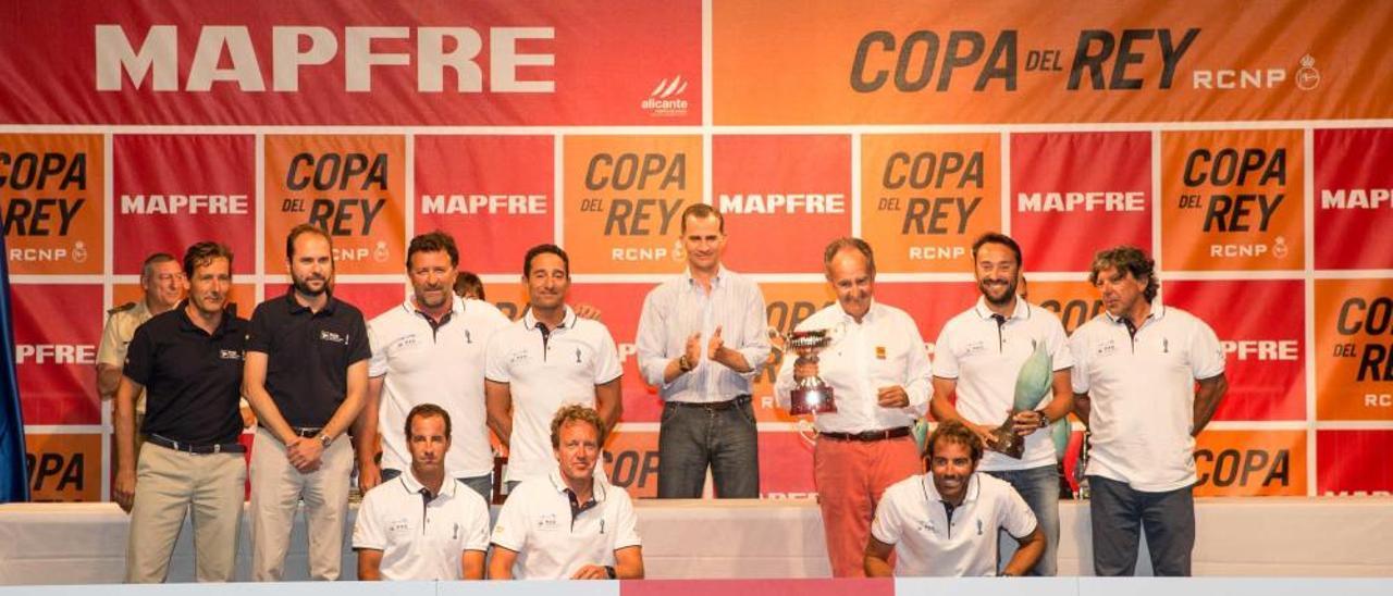 El Rey Felipe VI entrega los premios