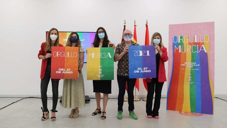 Todas las actividades para celebrar el Orgullo LGTBI en Murcia
