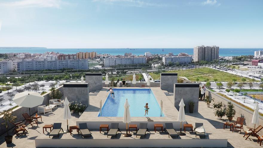Jardins de Llevant, un complejo residencial en Palma de Mallorca para mejorar tu calidad de vida