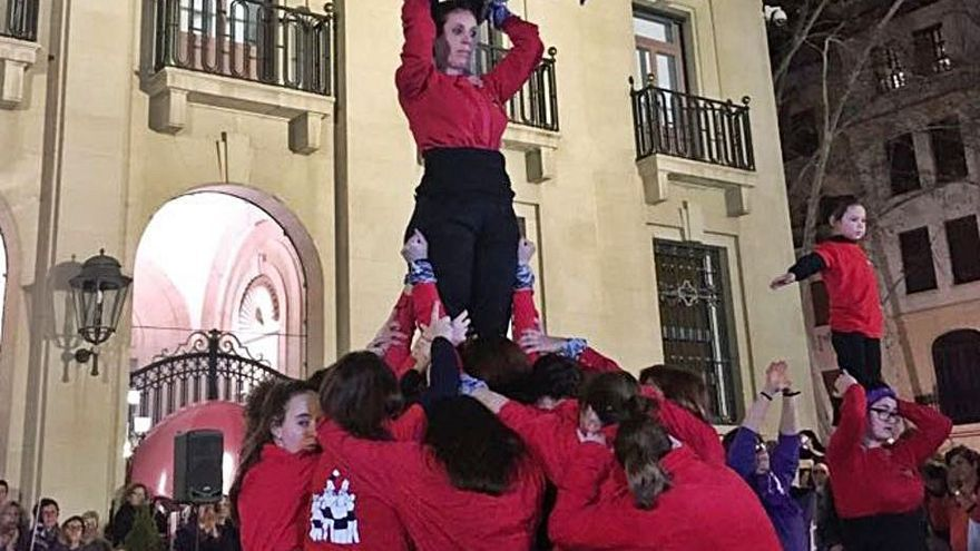 Muixeranga de Xàtiva. | L-EMV