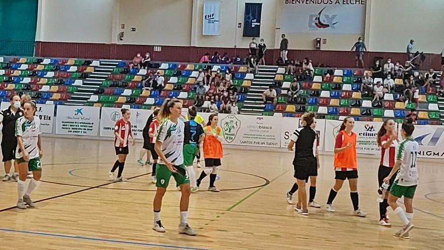Estreno amargo y con goleada en Primera División para el Joventut d'Elx