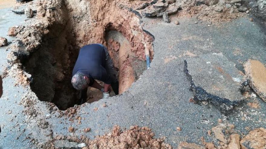 Gestank und Beschwerden nach Rohrbruch in Cala Santanyí