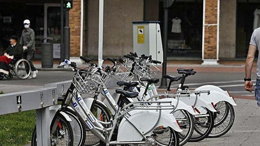 La Carriona y el Niemeyer tendrán estaciones de alquiler de bicis