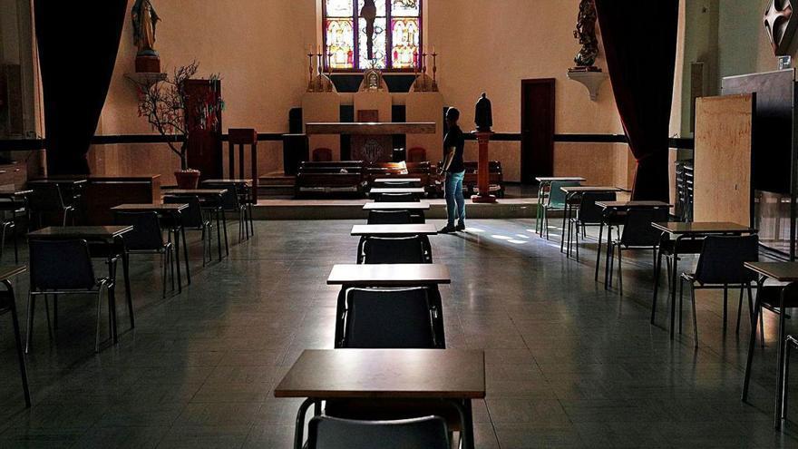 Tres de cada cuatro centros carecía de aulas para los nuevos grupos