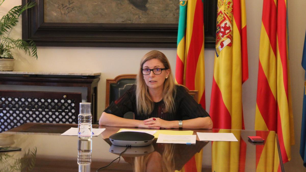 La alcaldesa de Castelló, Amparo Marco.