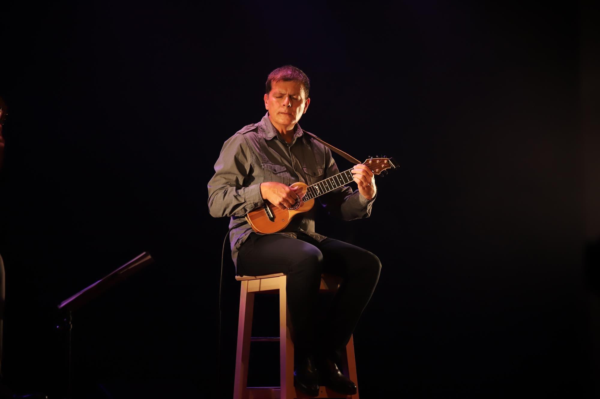 Benito Cabrera en concierto, Teguise