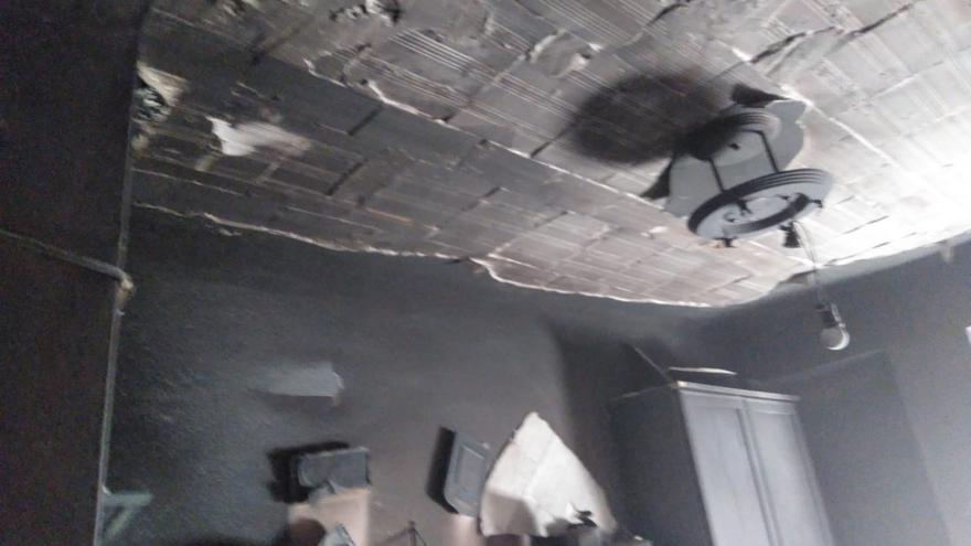 Dos personas intoxicadas en un incendio en una vivienda en La Unión