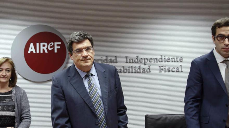 La AIReF rebaja la previsión de déficit hasta el 2,1% del PIB