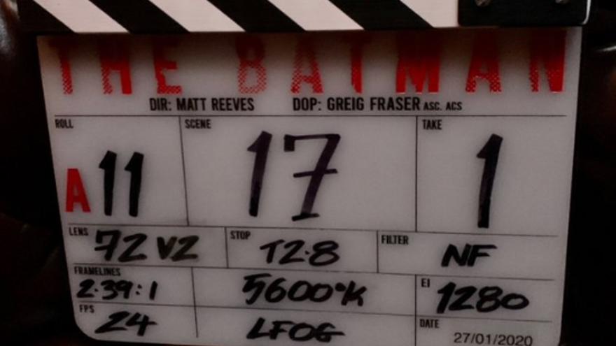 Primera imagen oficial del rodaje de 'The Batman'
