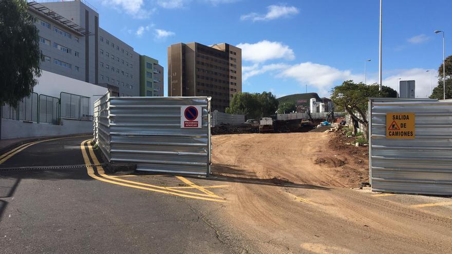 La Candelaria retoma las obras del nuevo edificio de Urgencias