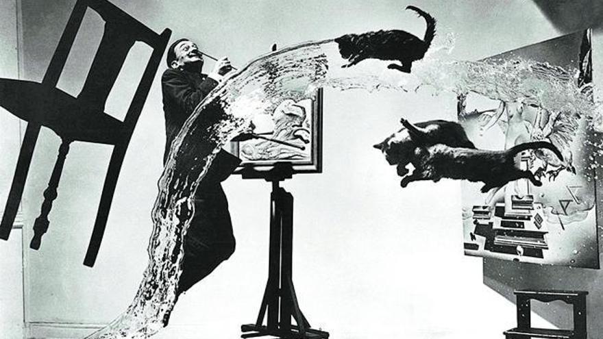 Philippe Halsman el revelador acto  de saltar