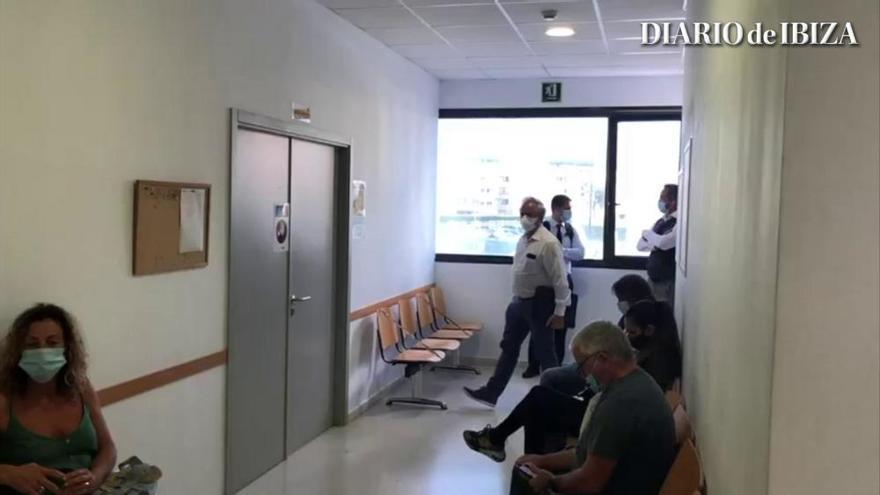 Denuncian aglomeraciones en los pasillos de uno de los juzgados del edificio Cetis