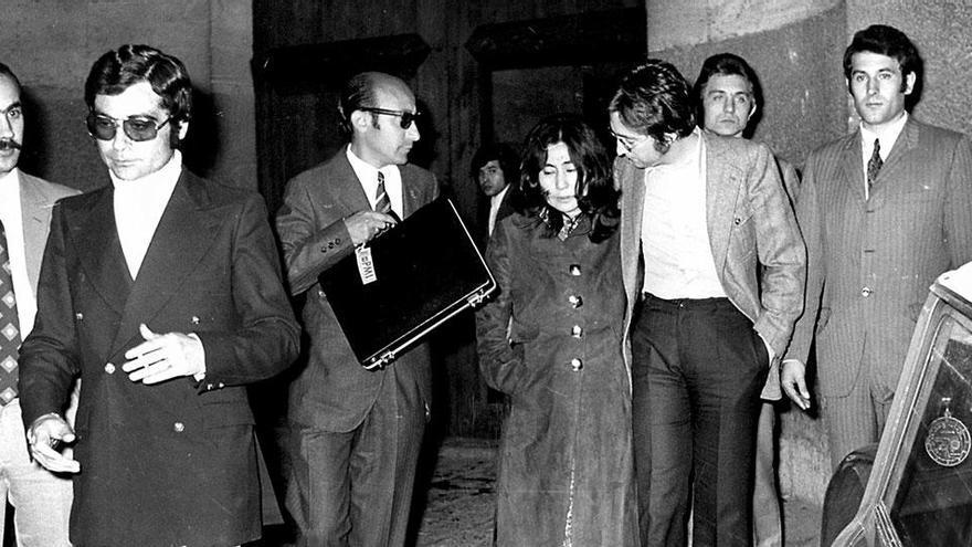 Vor 50 Jahren: John Lennon und Yoko Ono vor Gericht in Palma