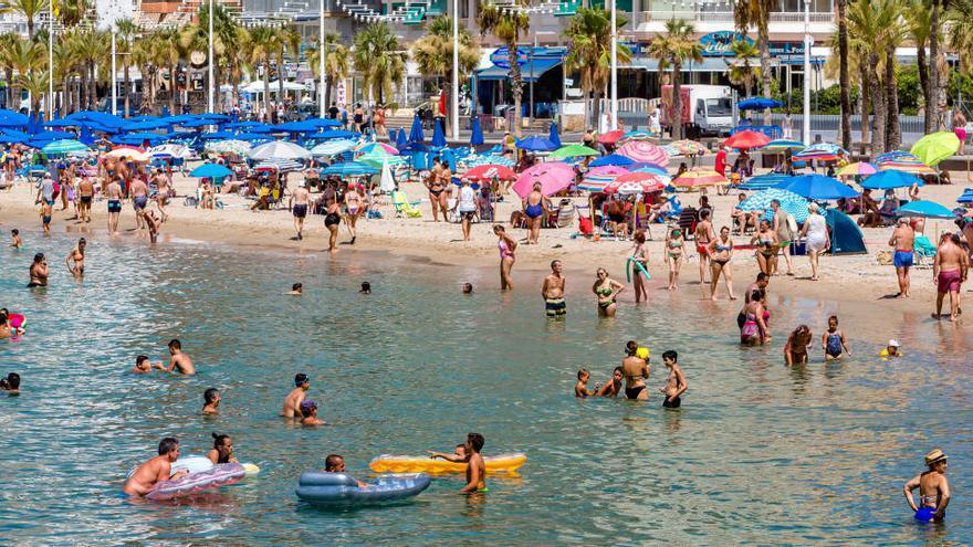 Los hoteles de Benidorm alcanzan un 59% de ocupación media la última semana