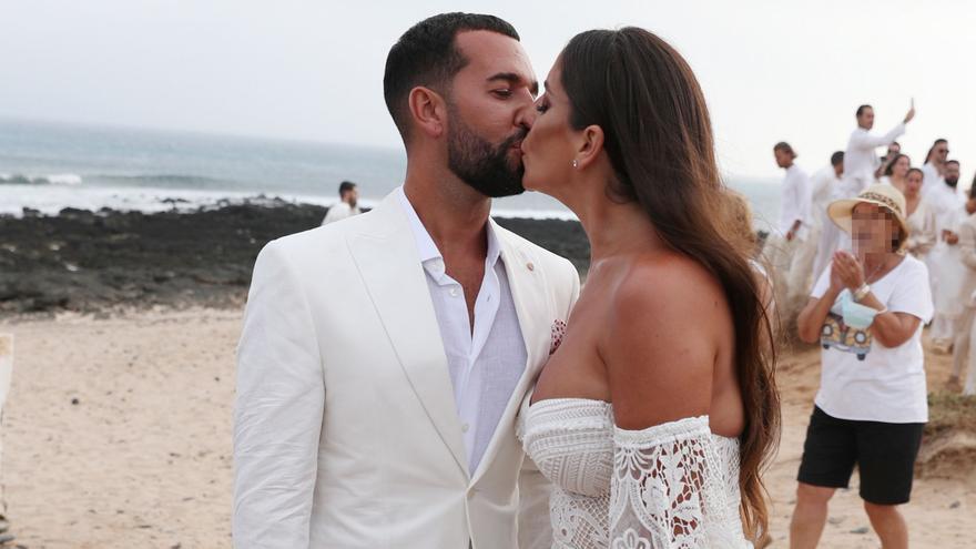 Así fue la boda de Anabel Pantoja en La Graciosa