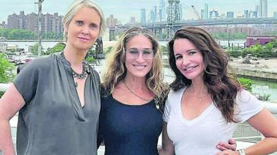 'Sexo en Nueva York' lanza una foto del reencuentro de las protagonistas